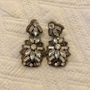 Stella and dot jeweled earrings